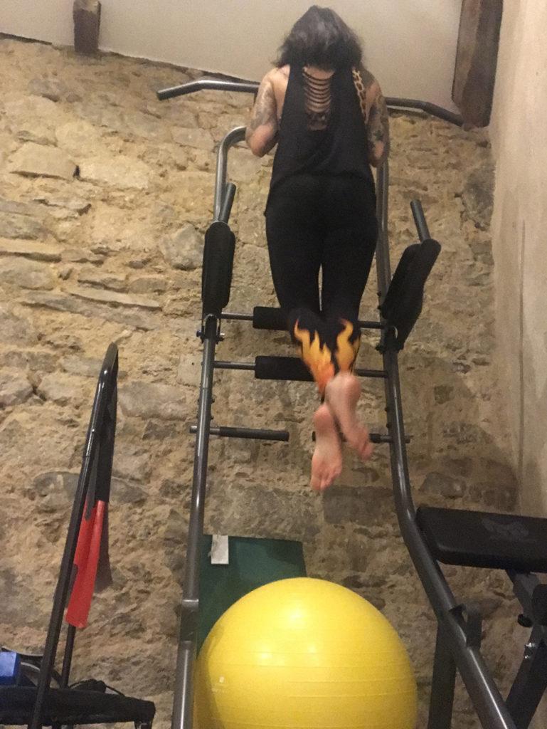 renforcement musculaire pole dance